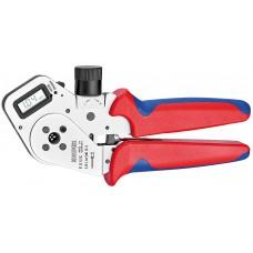Инструмент для тетрагональной опрессовки точеных контактов 195 mm