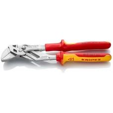 Клещи переставные-гаечный ключ хромированные 250 mm (арт. KN-8606250)