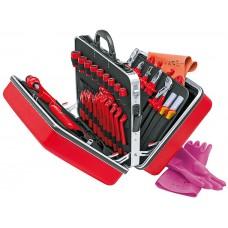 Набор инструментов 1000 V в чемодане KNIPEX KN-989914