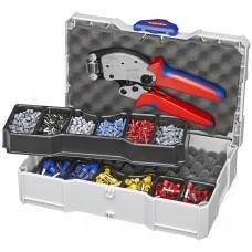 Набор для опрессовки в систейнере: Twistor16® KN-975318 и кабельные наконечники