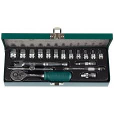 KRAFTOOL Industrie 18S универсальный набор инструмента 18 предм.