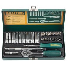 KRAFTOOL Industrie 24S универсальный набор инструмента 24 предм.