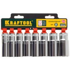 KRAFTOOL 11 шт., набор торцовых головок 27865-H8