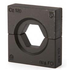 Набор матриц КВТ НМ-300-ТМЛс для опрессовки медных наконечников стандарта КВТ ТМЛс 61185