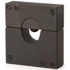 Набор матриц КВТ НМ-300-ПМ для опрессовки медных листовых наконечников ПМ 61035