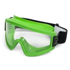 Очки защитные закрытые с прямой вентиляцией ЗП2 PANORAMA StrongGlass 80118