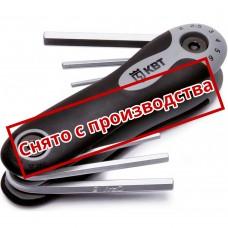 Набор торцевых ключей шестигранных 6 шт НТК-Ш-06 КВТ 67665