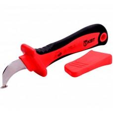 Нож с пяткой изолированный КВТ НМИ-01 63845