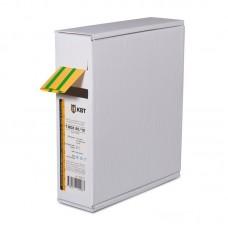 Термоусаживаемя трубка в евро-боксе Т-BOX-20/10 (желто-зеленая) 65640