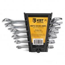 Набор гаечных рожковых ключей серии KBT-PROFESSIONAL, 6 шт., КВТ 78364