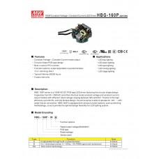 LED-драйвер Mean Well HBG-160P-60A AC-DC 156Вт