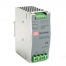 Источник питания AC/DC Mean Well DR-UPS40 DC-DC DIN-рейка контролер для UPS систем для аккумуляторов 4…12а*ч