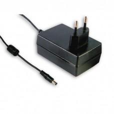 Источник питания AC/DC Mean Well GSM18E12-P1J Адаптер медицинский