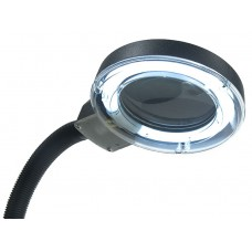 Бестеневая лампа лупа с люминесцентным кольцом МЕГЕОН 02809