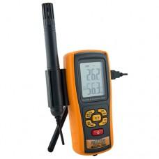 Термогигрометр с выносным зондом и термопарой К-типа МЕГЕОН 20061