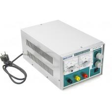 Одноканальный линейный источник питания с аналоговой индикацией МЕГЕОН 31645