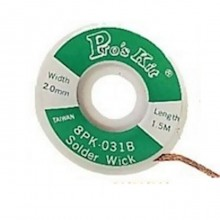 Оплетка для удаления припоя ProsKit 8PK-031B (2.0мм.)