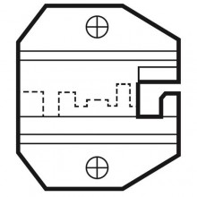 Сменная матрица для обжима коннекторов 4P4C/RJ22 ProsKit 1PK-3003D16