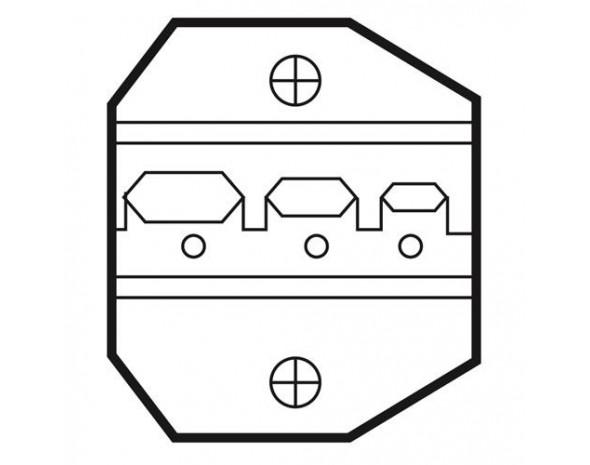 Сменная матрица для обжима наконечников ProsKit 1PK-3003D21