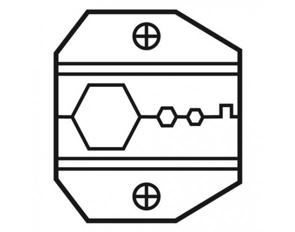 Сменные матрица для обжима коннекторов N-серии и RG-8/11 ProsKit 1PK-3003D6