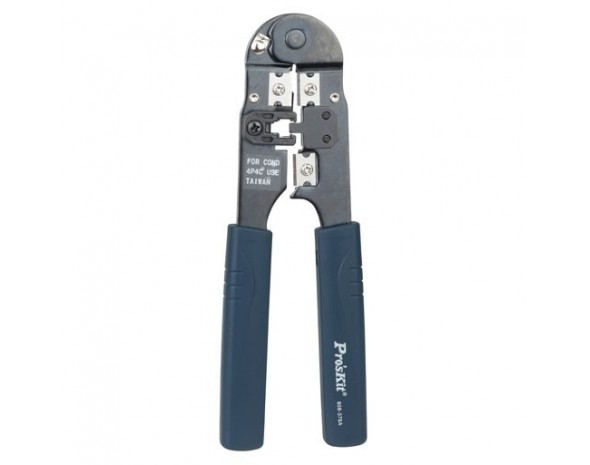 Кримпер ProsKit 808-376A для телефонных кабелей 2/4 контакта