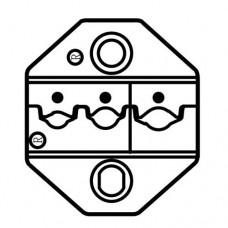 Сменная матрица для обжима изолированных гаечных клемм ProsKit CP-236DR