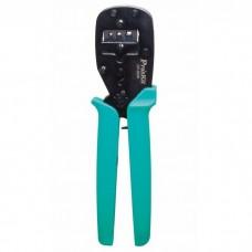 Клещи для обжима ProsKit CP-3006FD18  со сменными губками для клемм 0,5-4 кв.мм