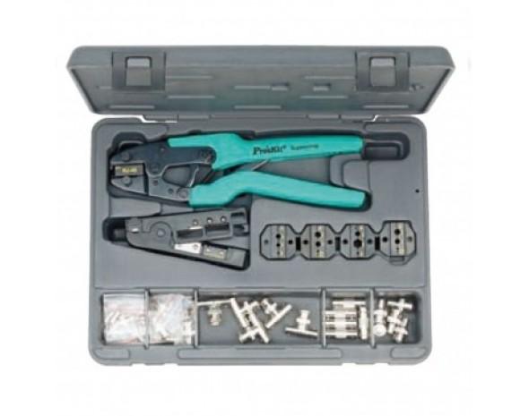 Набор ProsKit 1PK-934 для установки ВЧ-компонентов на коаксиальные кабели