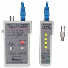 Тестер сетевого кабеля Proskit 3PK-NT007N
