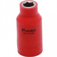 Изолированная 1/2 дюйма торцевая головка Proskit SK-V410B 10 мм (1000 В - VDE)
