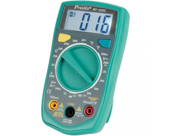 Цифровой мультиметр ProsKit MT-1233C