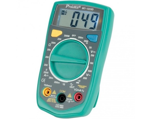 Цифровой мультиметр ProsKit MT-1233D