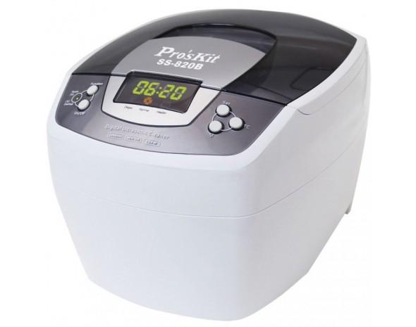 Профессиональная ультразвуковая ванна ProsKit SS-820B (2l, 220 V)