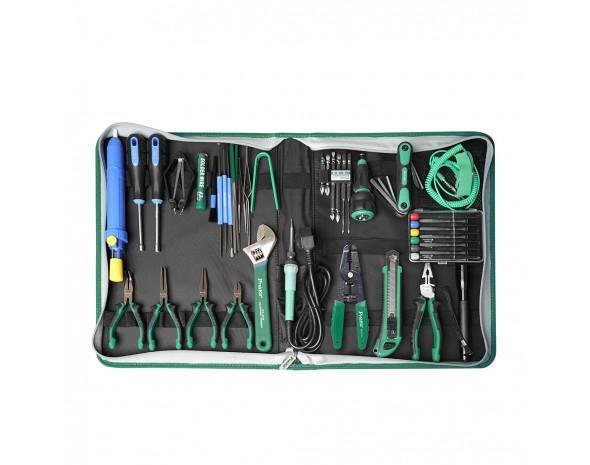 Набор инструментов для электромонтажа Pro'sKit PK-2002B