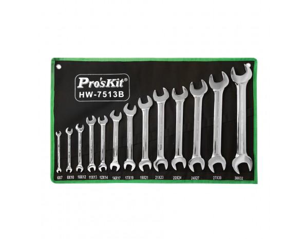 Набор ключей ProsKit HW-7513B (13 штук)