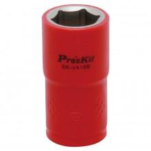 Изолированная 1/2 дюйма торцевая головка  Proskit SK-V418B 18 мм (1000 В - VDE)