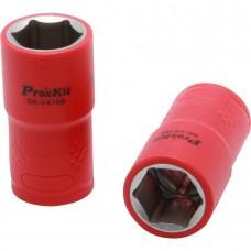 Изолированная 1/2 дюйма торцевая головка  Proskit SK-V419B 19 мм (1000 В - VDE)
