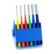 Набор выколоток, экслюзивное исполнение, разные цвета, пластиковая кассета