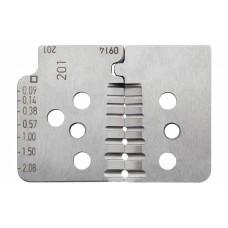 Комплект специальных ножей № 201