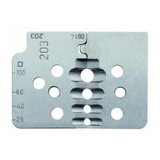 Комплект специальных ножей № 203