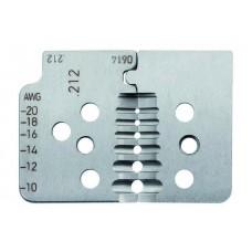 Комплект специальных ножей № 212