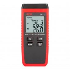 Термометр RGK CT-12 с поверхностными зондами TR-10S