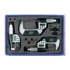 Микрометр цифровой для измерения толщины с глубокой скобой 907.064 Filetta