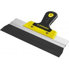ProFlat фасадный шпатель анодированный 250 мм, 2к ручка, STAYER