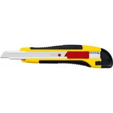 Нож с автостопом HERCULES-9, сегмент. лезвия 9 мм, STAYER