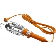 Светильник MAXLight переносной с выключателем, 5м, 60 Вт/220 В, STAYER