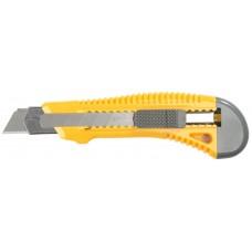 STAYER лезвие 18 мм, нож с сегментированным лезвием 0913