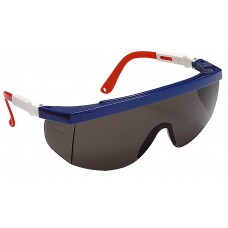 Очки STAYER защитные с регулируемыми по длине и углу наклона дужками, поликарбонатные затемненные линзы