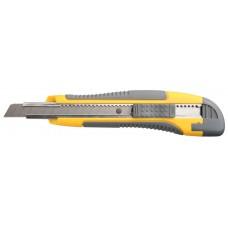 """Нож STAYER """"MASTER"""" с выдвижным сегмент. лезвием, пластмас., упроч., 9мм"""