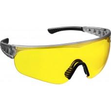 STAYER HERCULES Желтые, очки защитные открытого типа, мягкие двухкомпонентные дужки.